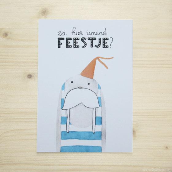 kaart-hemelsblauw-handletteren-feestje-124175